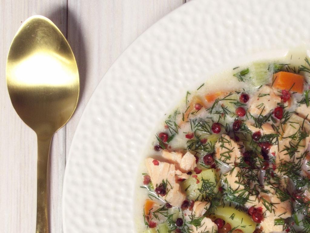 fińska zupa z łososia 2