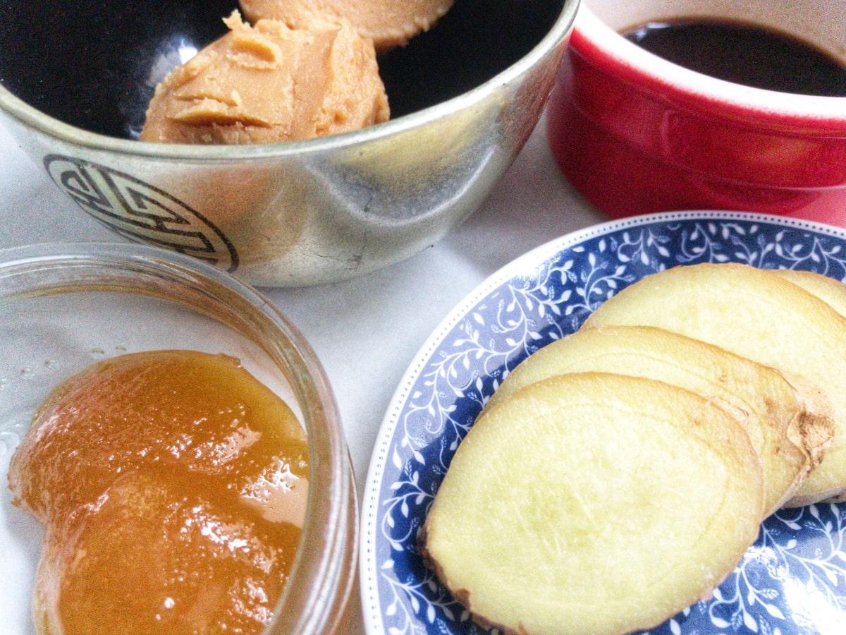 łosoś w glazurze z pasty miso 2