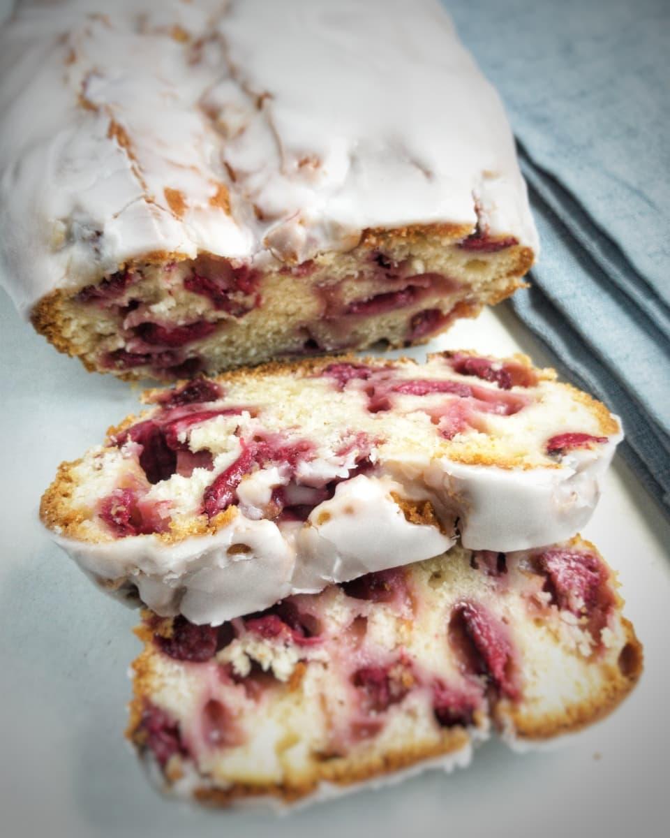 ciasto truskawkowe na maślance 2