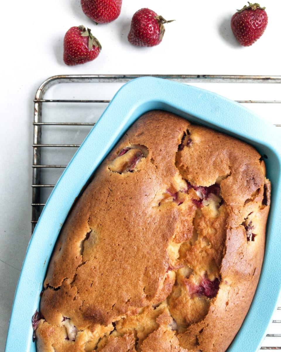 ciasto truskawkowe na maślance 4