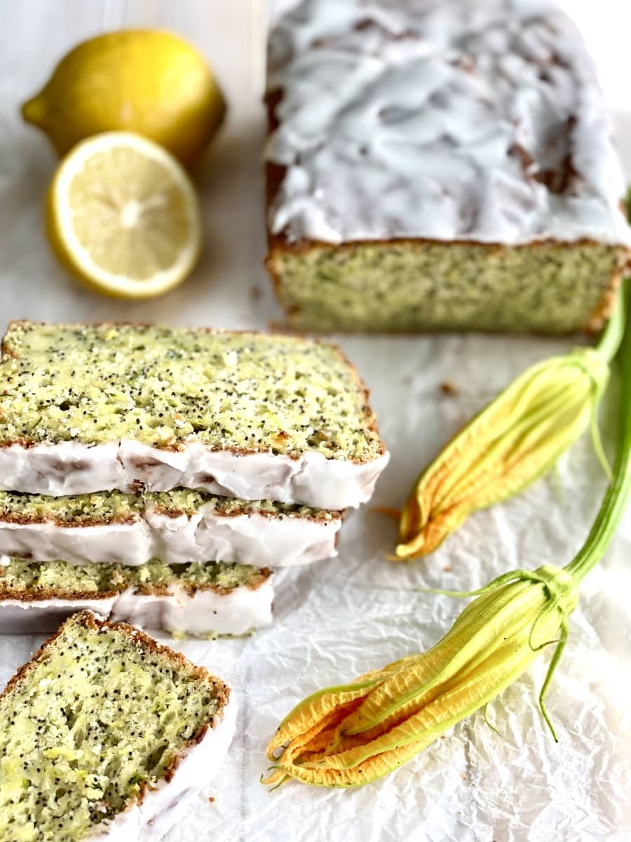 cytrynowy chlebek z cukinii z makiem 3