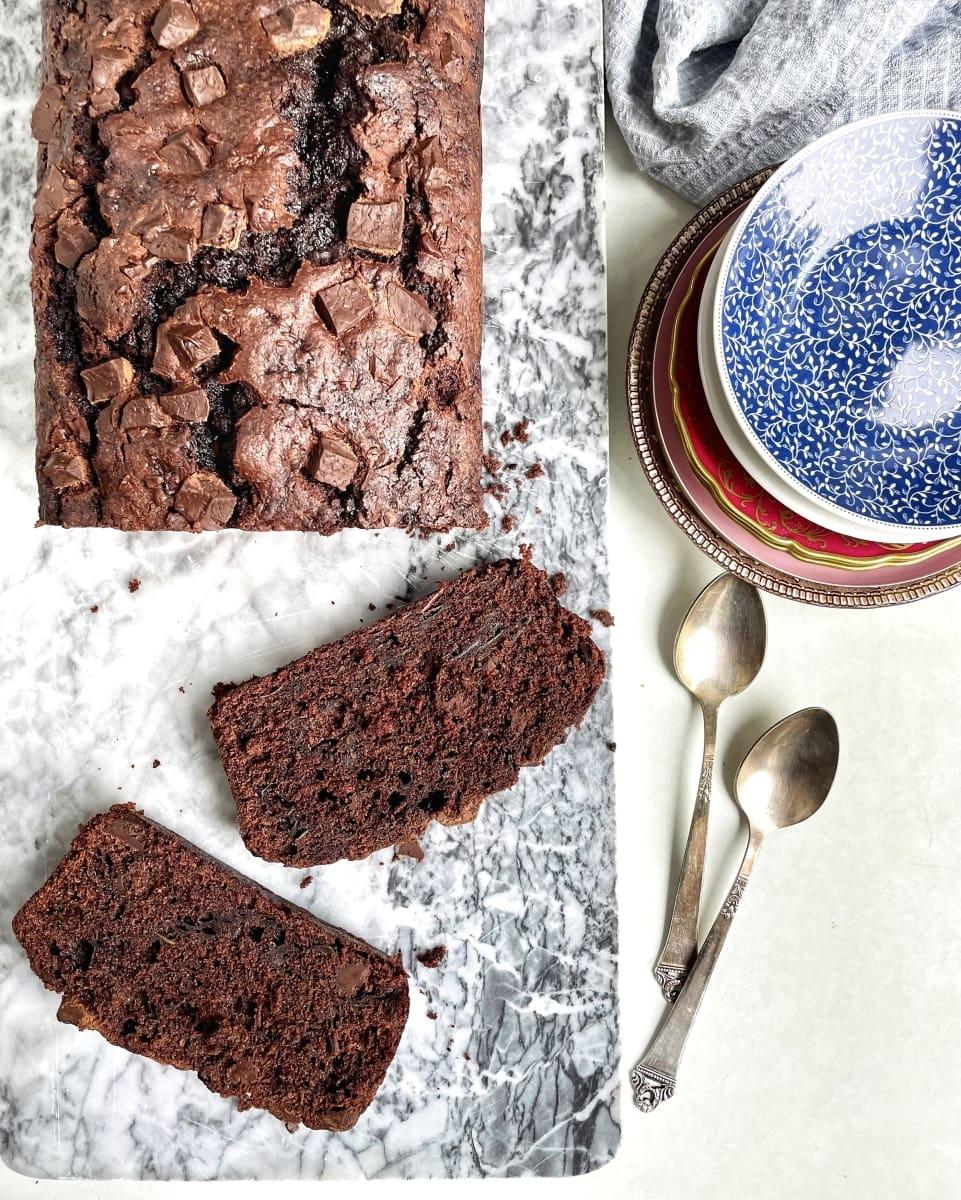 czekoladowe ciasto z cukinii 4