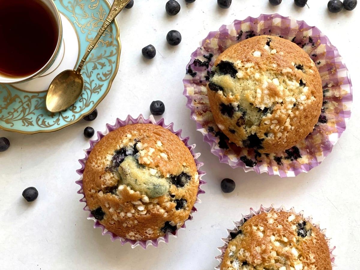 muffiny z jagodami 2