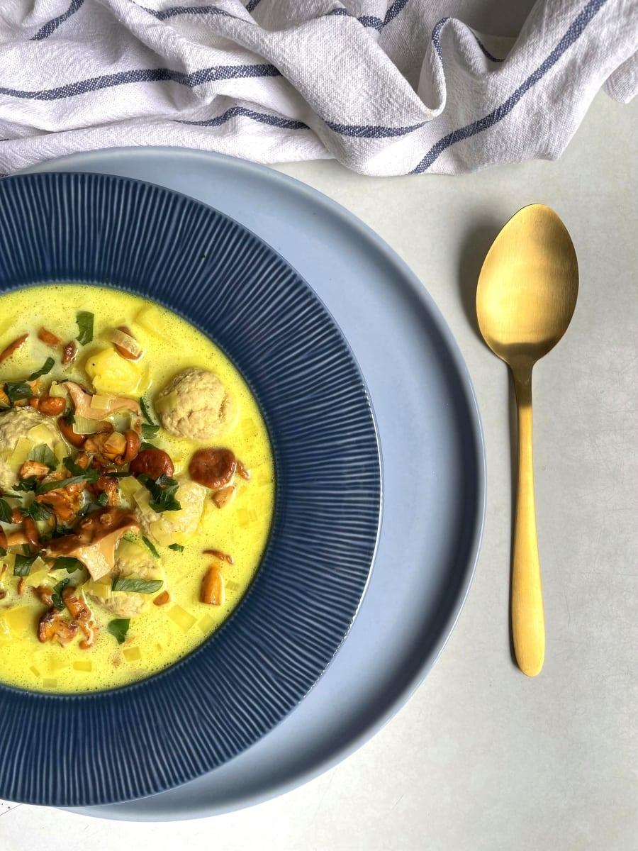 zupa kurkowa z klopsikami 2